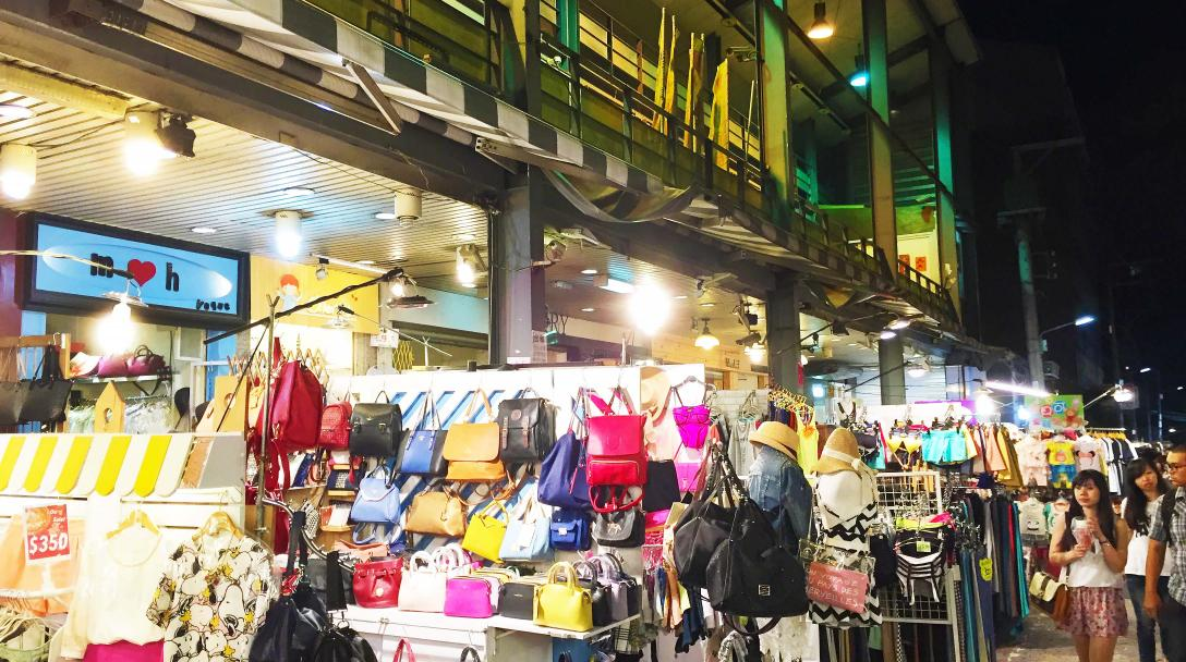 Feng Chia Night Market Shopping Area (逢甲夜市)