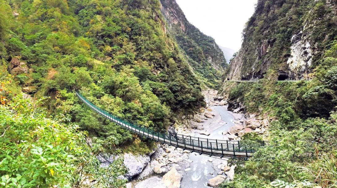 Taroko Swallow Grotto Trail (錐麓古道吊橋)