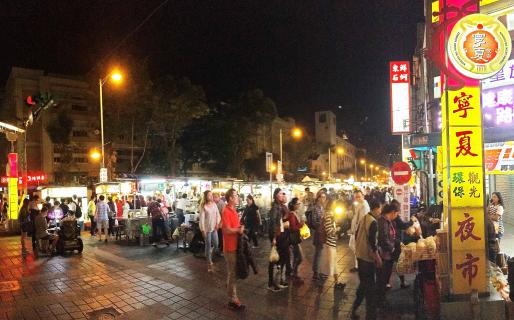 Ningxia Night Market Entrance (寧夏夜市入口)