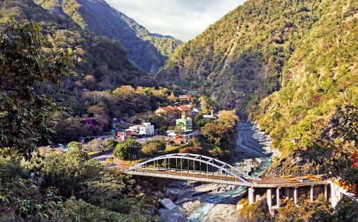Taroko Tianxiang Service Station and Visitor Center (太魯閣天祥管理站與遊客中心)